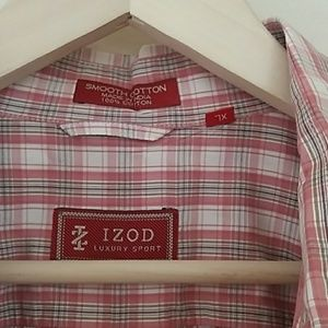 Izod Luxury Sport Men Shirt XL